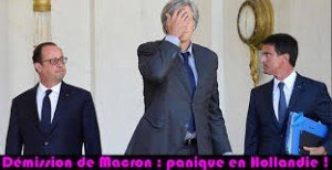 démission de Macron