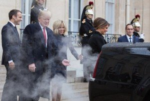 Trump l'enfumeur